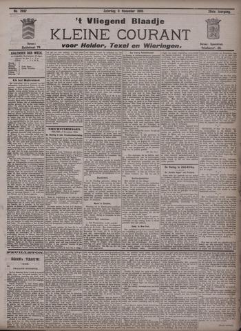 Vliegend blaadje : nieuws- en advertentiebode voor Den Helder 1900-11-03