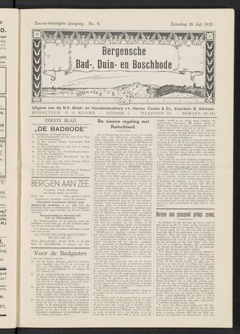 Bergensche bad-, duin- en boschbode 1935-07-20