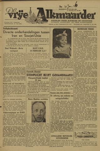 De Vrije Alkmaarder 1946-01-31