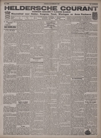 Heldersche Courant 1916-02-22