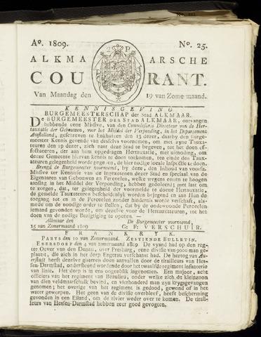 Alkmaarsche Courant 1809-06-19