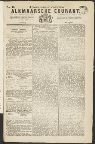 Alkmaarsche Courant 1867-04-14