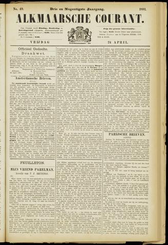 Alkmaarsche Courant 1891-04-24