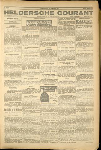 Heldersche Courant 1927-01-12