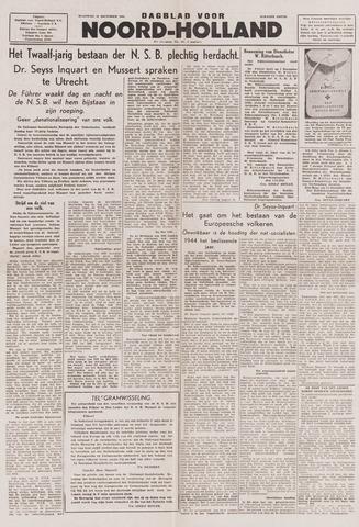 Dagblad Noord-Holland, Schager editie 1943-12-13