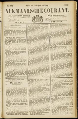 Alkmaarsche Courant 1885-11-06