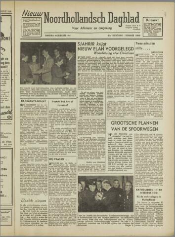 Nieuw Noordhollandsch Dagblad : voor Alkmaar en omgeving 1946-01-29