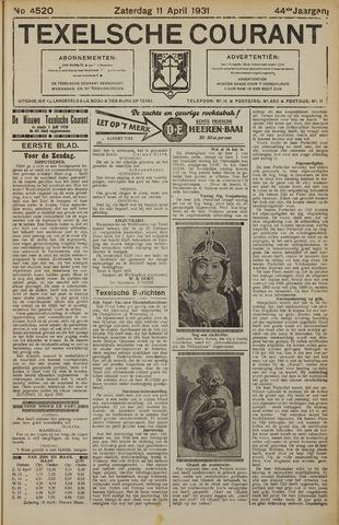 Texelsche Courant 1931-04-11