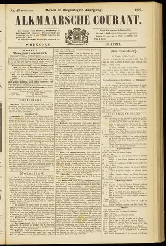 Alkmaarsche Courant 1895-04-10