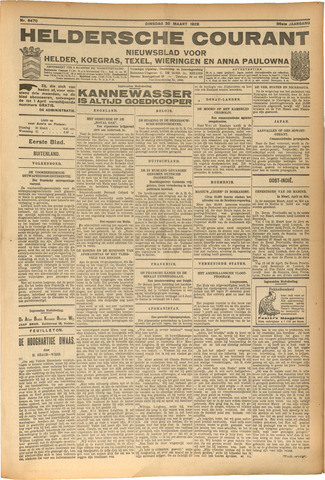 Heldersche Courant 1928-03-20