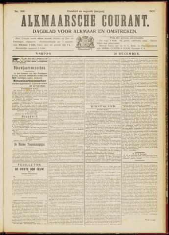 Alkmaarsche Courant 1907-12-20