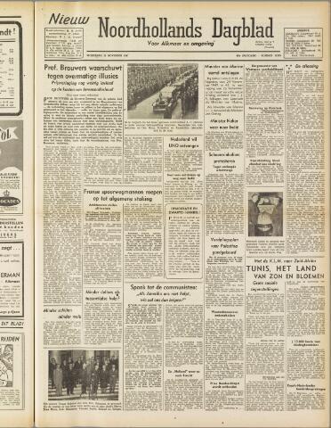 Nieuw Noordhollandsch Dagblad : voor Alkmaar en omgeving 1947-11-26