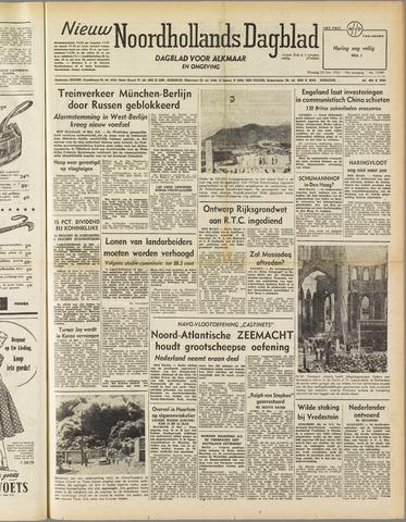 Nieuw Noordhollandsch Dagblad : voor Alkmaar en omgeving 1952-05-20