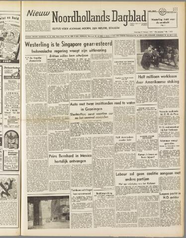 Nieuw Noordhollandsch Dagblad : voor Alkmaar en omgeving 1950-02-27