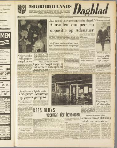 Noordhollands Dagblad : dagblad voor Alkmaar en omgeving 1960-01-19