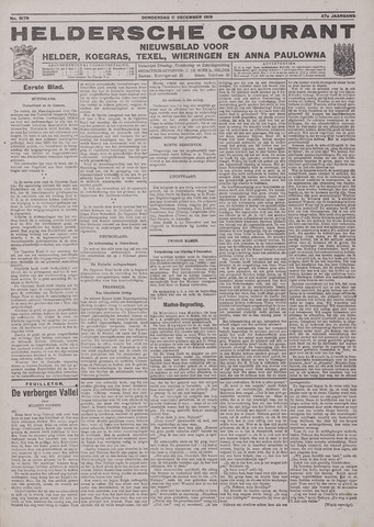 Heldersche Courant 1919-12-11