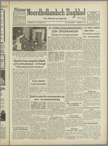 Nieuw Noordhollandsch Dagblad : voor Alkmaar en omgeving 1946-10-16