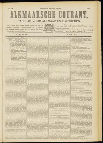 Alkmaarsche Courant 1914-03-28