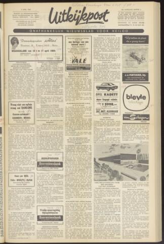 Uitkijkpost : nieuwsblad voor Heiloo e.o. 1969-04-09