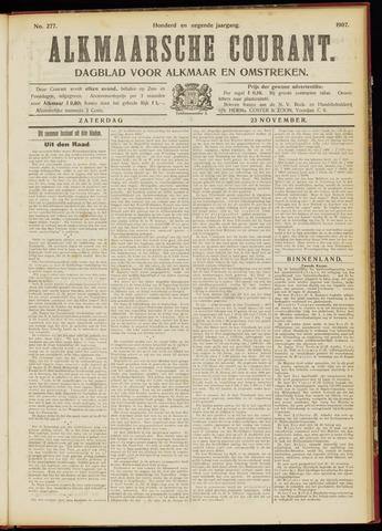 Alkmaarsche Courant 1907-11-23