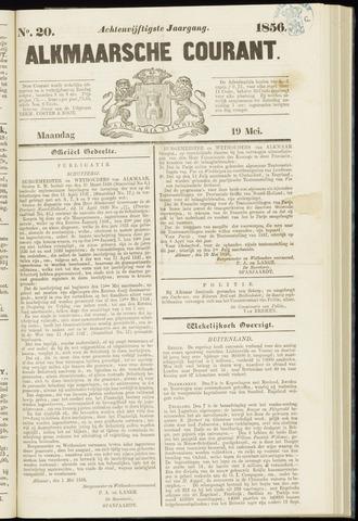 Alkmaarsche Courant 1856-05-19