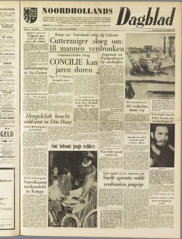 Noordhollands Dagblad : dagblad voor Alkmaar en omgeving 1960-11-21