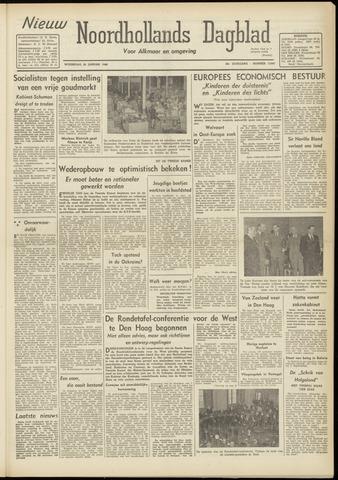 Nieuw Noordhollandsch Dagblad : voor Alkmaar en omgeving 1948-01-28