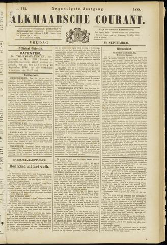 Alkmaarsche Courant 1888-09-14