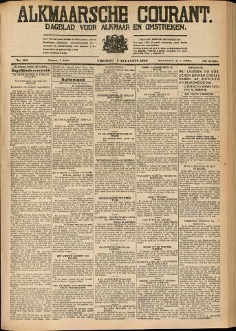 Alkmaarsche Courant 1930-08-08