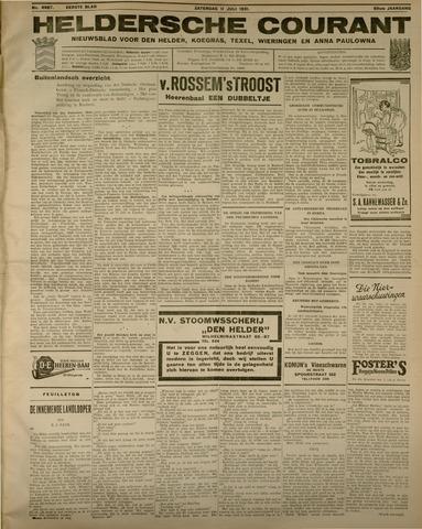 Heldersche Courant 1931-07-11