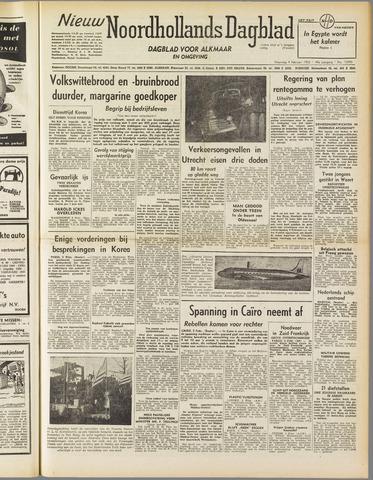 Nieuw Noordhollandsch Dagblad : voor Alkmaar en omgeving 1952-02-04
