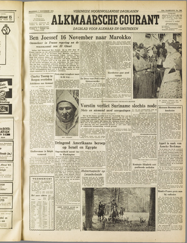 Alkmaarsche Courant 1955-11-07