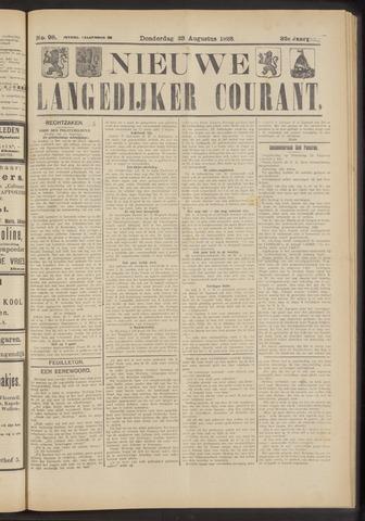 Nieuwe Langedijker Courant 1923-08-23
