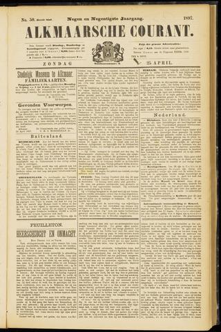 Alkmaarsche Courant 1897-04-25