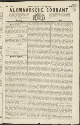 Alkmaarsche Courant 1868-07-12