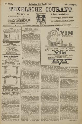 Texelsche Courant 1923-04-28