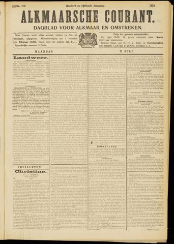 Alkmaarsche Courant 1913-07-21