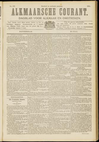 Alkmaarsche Courant 1914-07-23