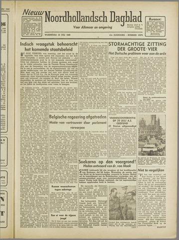Nieuw Noordhollandsch Dagblad : voor Alkmaar en omgeving 1946-07-10
