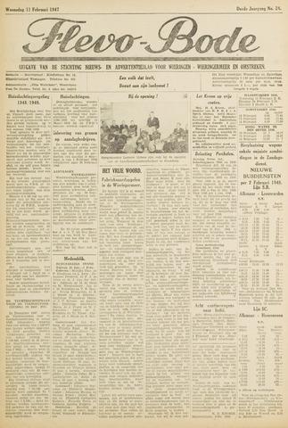 Flevo-bode: nieuwsblad voor Wieringen-Wieringermeer 1948-02-11
