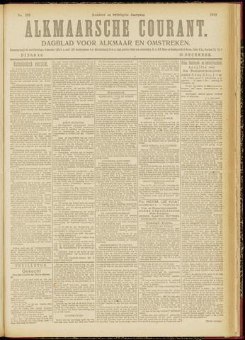Alkmaarsche Courant 1918-12-10