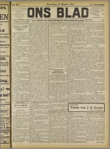 Ons Blad : katholiek nieuwsblad voor N-H 1917-03-10