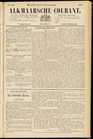 Alkmaarsche Courant 1898-12-02