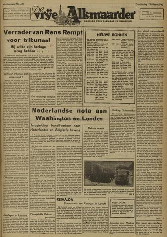 De Vrije Alkmaarder 1947-03-13