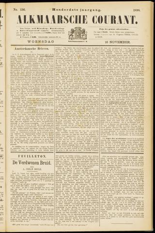 Alkmaarsche Courant 1898-11-16