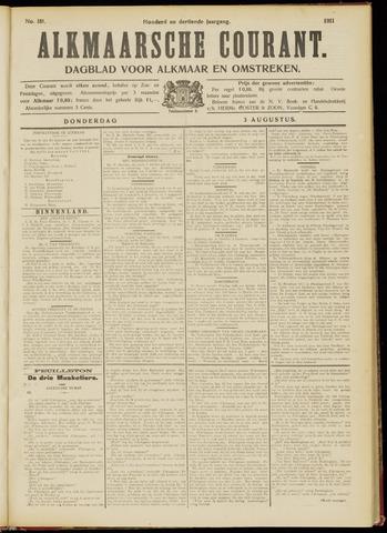 Alkmaarsche Courant 1911-08-03