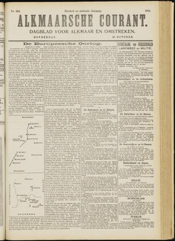 Alkmaarsche Courant 1914-10-15
