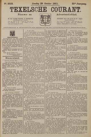 Texelsche Courant 1911-10-29