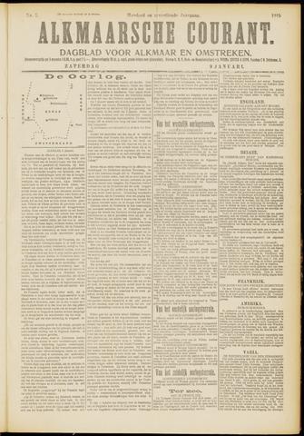 Alkmaarsche Courant 1915-01-09