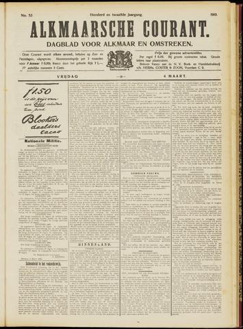Alkmaarsche Courant 1910-03-04